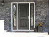 Metal Door and Sidelights